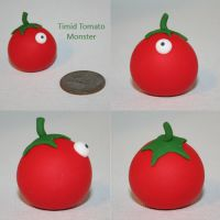 Tomato Timid Monster by TimidMonsters