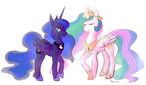 The Princesses by Tokiball12345