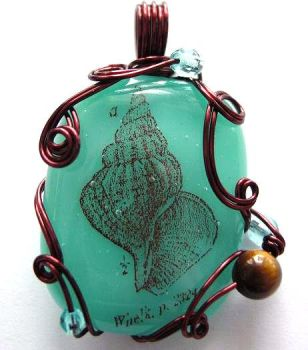 Whelk Pendant by sojourncuriosities
