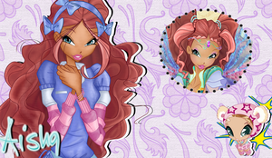 I Am A Couture Fairy Aisha Wallpaper by Wizplace