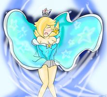 Rosalina: Windy Weather v5 by Xero-J