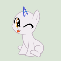Request- Pixel Bit sitting Pony Base by alari1234-Bases