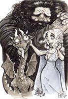 Dragon Lovers by AdamWithers