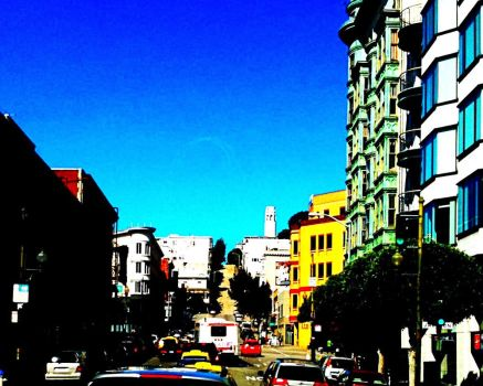 Downtown San Francisco, CA by epperfectgirl