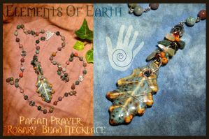 Elements of Earth Pagan Rosary by Lindowyn