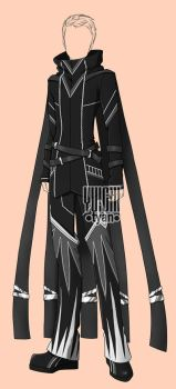 [CLOSED] Auction BW Outfit male 27 by YuiChi-tyan