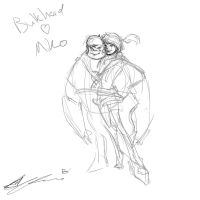 Bulkhead and Miko Concept 01 by creon77
