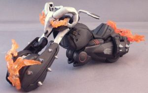 Transformers Ghost Rider Bike by Shinobitron