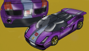 Autobot MetalPedal - Alt Mode (WIP 10/20/14) by OnyxPen