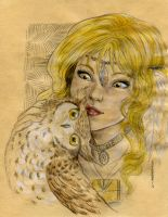 Kiriban 59395pv- Hazel and Owl by LadyDeddelit