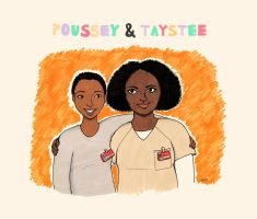 Poussey and Taystee by stardixa