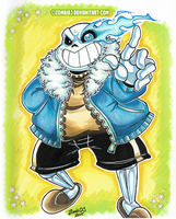 Sans - Undertale by ZombiDJ