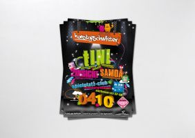 3D Party Flyer by homeaffairs