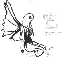Fairy Tattoo for Chelsea-C by Chisie-chan