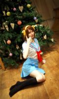 The Melancholy of Haruhi Suzumiya - Christmas time by Shredinger-Cat