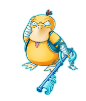Epic KH Psyduck of AWESOMENESS by Tataouin