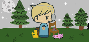 Pewdiepie and Friends by Blahhh2011