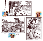 Beach Girls Reboot WIP-thumbnails by Ric-M