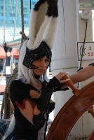 Fran at the wheel by Xero-Cosplay