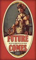 future comes girl #6 by couscousteam