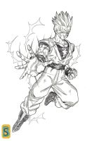 Son Goten ssj2 by bloodsplach