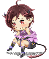 Commission - Chibi for Superhglg by nyharu