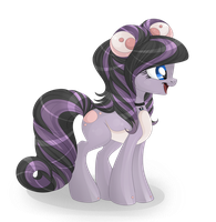 Data pony vel. persocom pony by BlackFreya