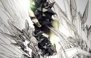 Girl Abstract by yardenegri