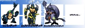 Echomon Digivolutions(part 01) by Gummymon