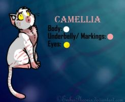 CE: Camellia the Cat by VazlaKat