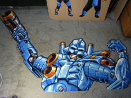 TURRICAN Sprite better pic by Buck-Chow-Simmons