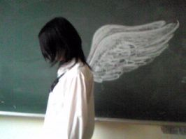 Classroom Angel by loveandpeacetotoro