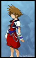 KH Collab: Sora by DragonEyes9