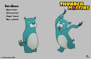 Thunder Muffins - Sardines by AndrewKwan