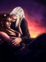 Rose and Xidane by winterqueen