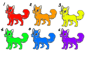 FREE Rainbow cat adopts! (closed) by mermaidgirl013