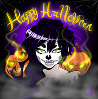 Happy Halloween! by MonstreNoir