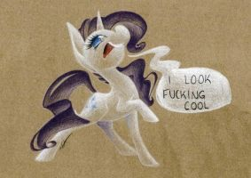 Rock On, Female Equine by getchanoodlewet