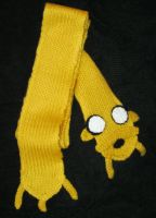 Jake the Dog Scarf by Tirrivee