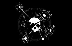 STDWL Jolly Roger v.2 - Black by SpacePirateCaine