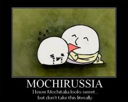 Mochirussia, what is this?! - Motivational Poster by Isaribi-chama