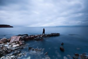 By the Black Sea... Alone... by I-am-Gyperion