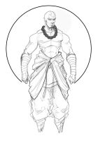 adult avatar aang revision by Sketchydeez