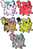 Kittens for Kody-ak-bear by MPCB
