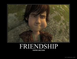 HTTYD Demote - Friendship by kathy-vicki