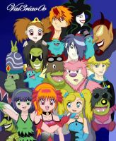 PowerPuff Girls By Val3riao0o by Val3riao0o