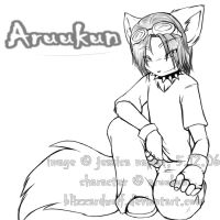 Commission - Aruukun by BlizzardWolf