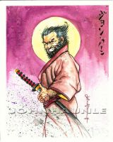 Haun Wolverine Sketch CARD by JohnHaunLE