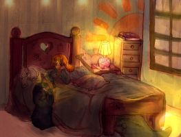 The monster under the bed by Bruna-Chan