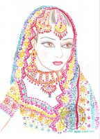 Girl from India - Chica de India by aurangelica